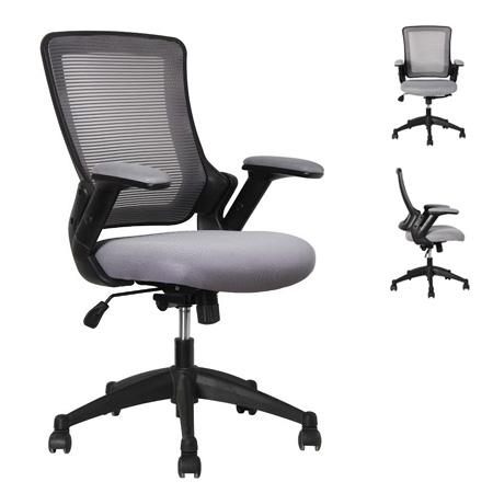 כסא מזכירה ארגונומי גב רשת  כולל תמיכה לומברית