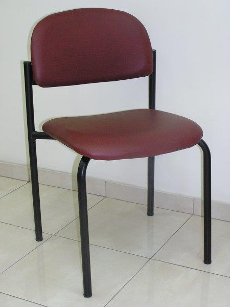 כסא רקפת מרופד