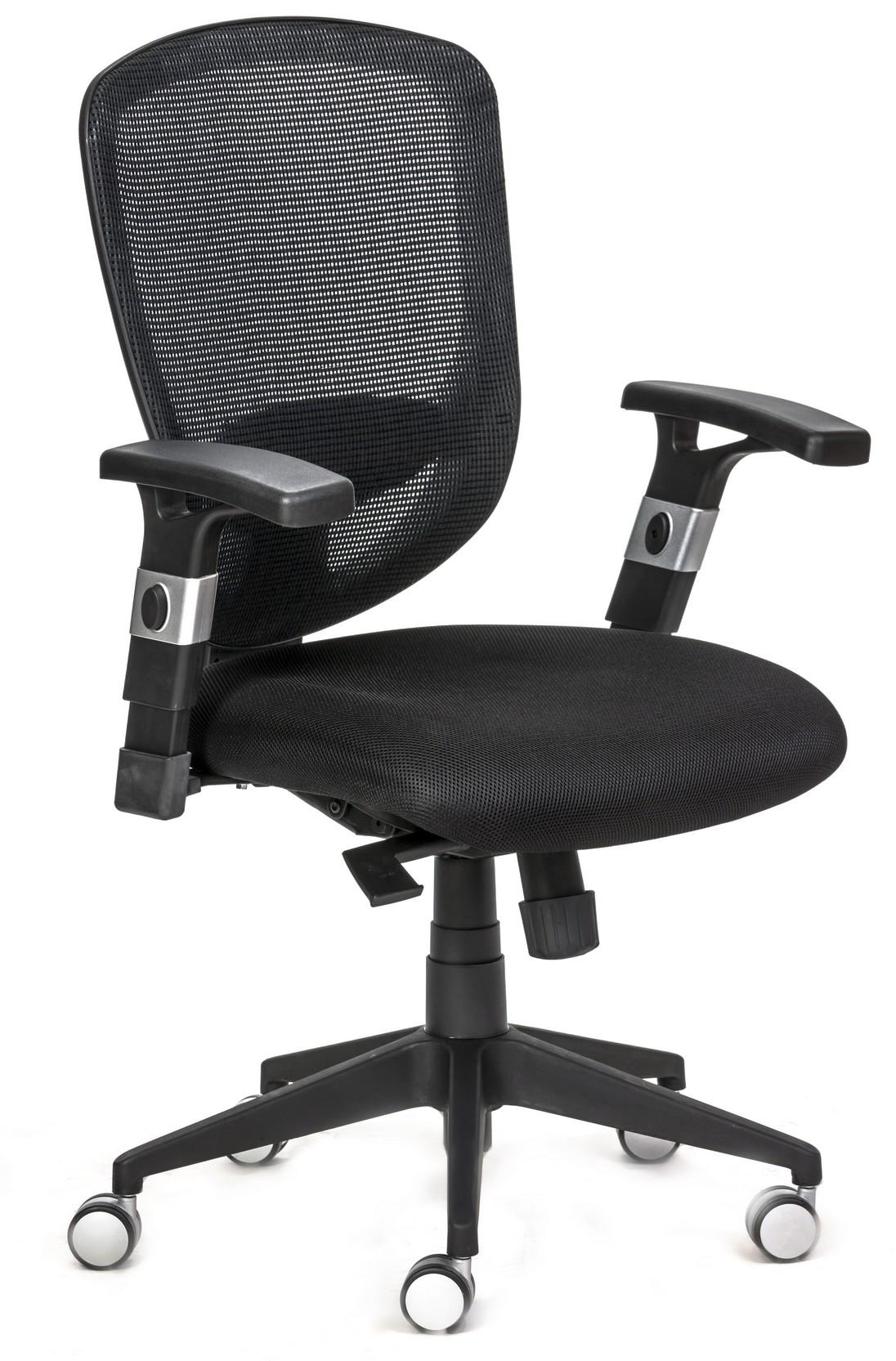כסא משרדי איכותי גב רשת לחדרי ישיבות דגם פוקוס
