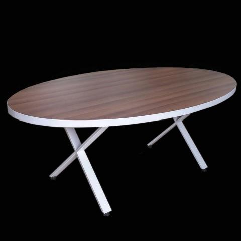 שולחן ישיבות תוצרת הארץ דגם אליפסה