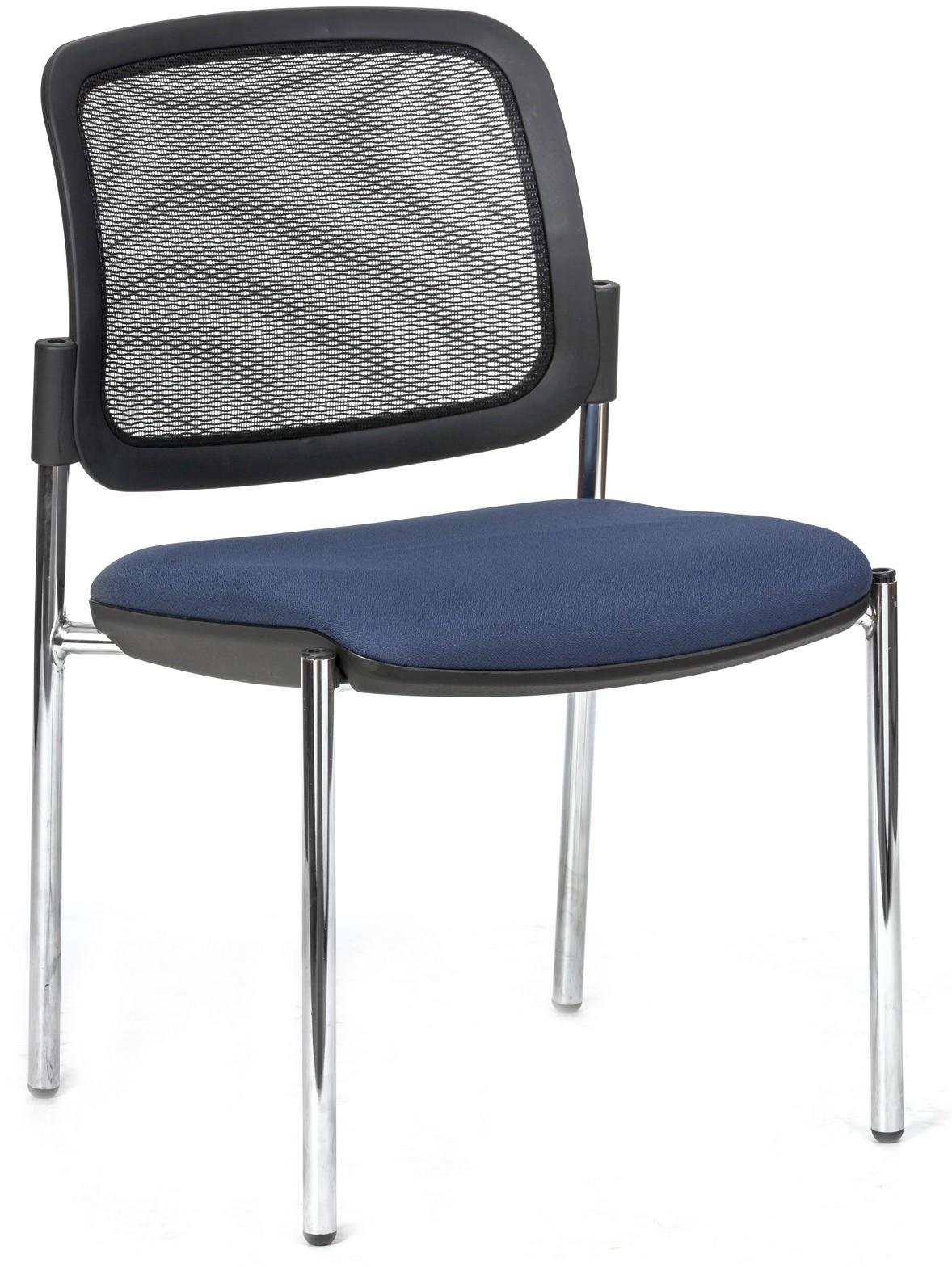 כסא אורח והמתנה גב רשת מושב מרופד דגם סוליי