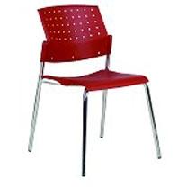 כסא המתנה פלסטיק דגם פונטו