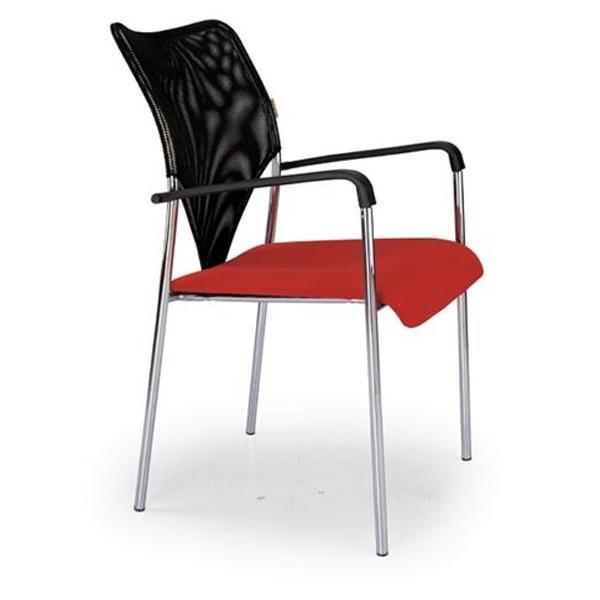 כסא אורח עם ידיות דגם דייזי