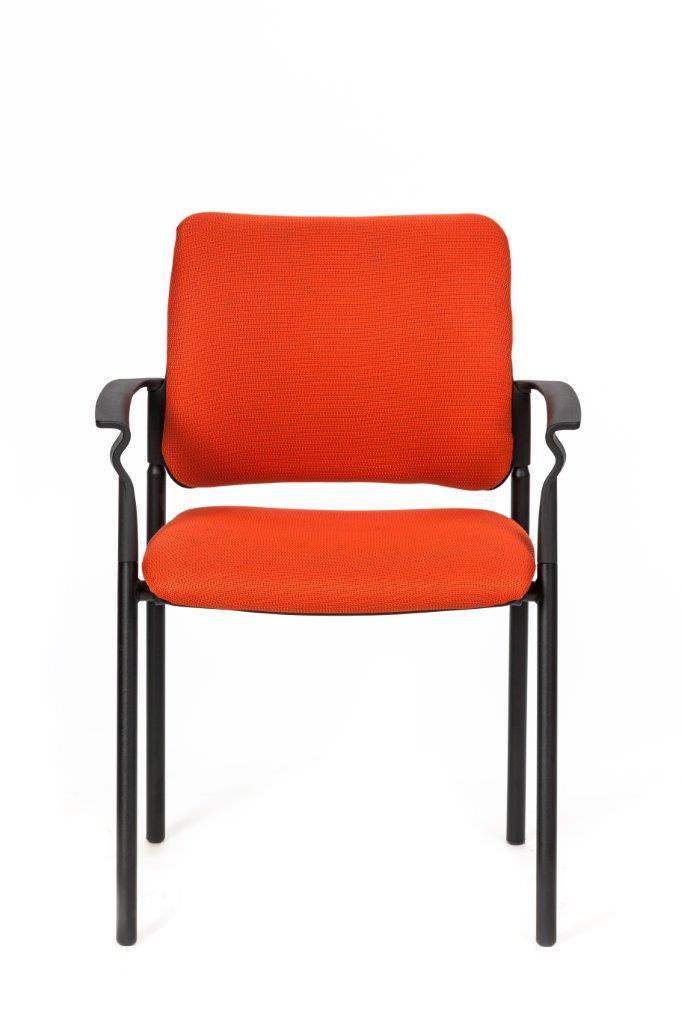 כסא אורח  משרדי מרופד איכותי וחזק דגם פינקו