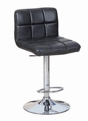 כסאות בר/מסעדה בריפוד דמוי עור ודום  תומך לרגליים
