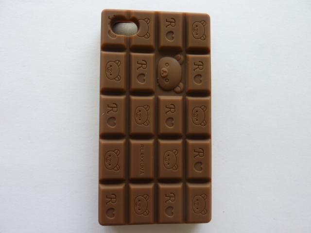 כיסוי אייפון 4\4אס עם ריח שוקולד