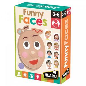 פרצופים מצחיקים -רגשות מבית headu עשוי מחומרים ממוחזרים