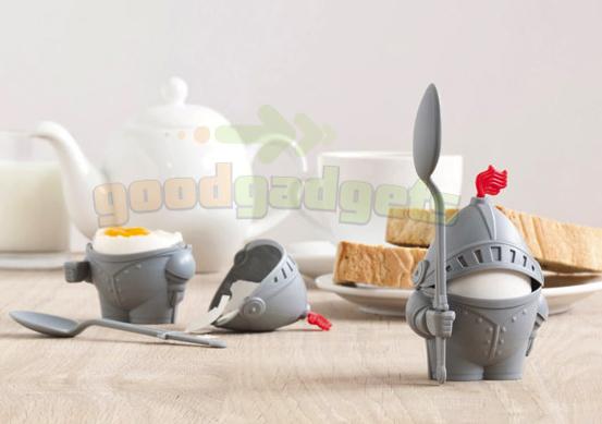 ארתור כלי לביצה קשה/רכה עם כפית