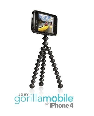 חצובה גמישה למצלמות מתאים גם לאיפון 4