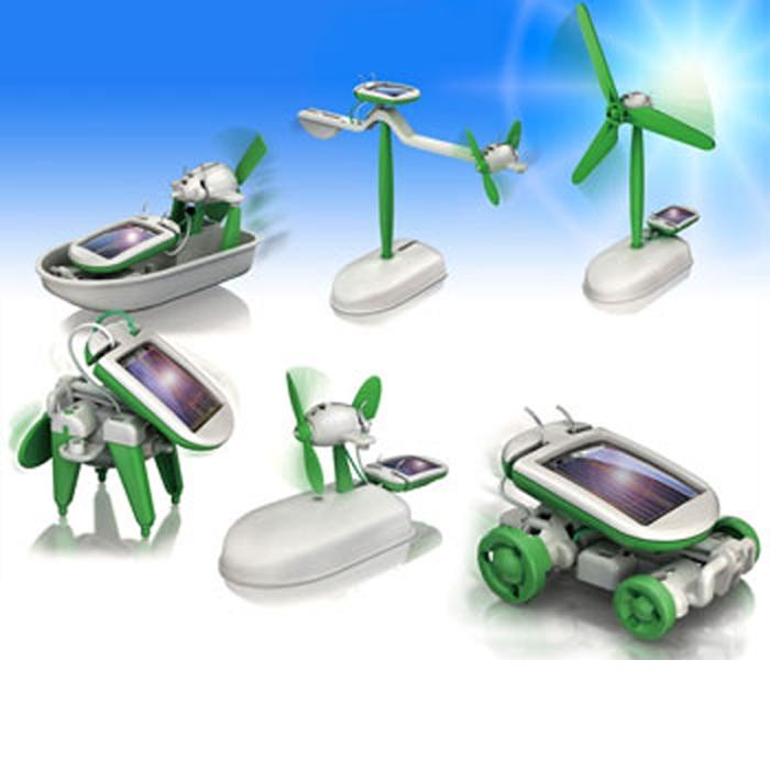 רובוט רכב סולארי 6 מצבים
