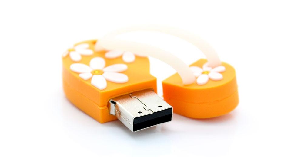 זכרון נייד USB בצורת נעל סיני 4 GB
