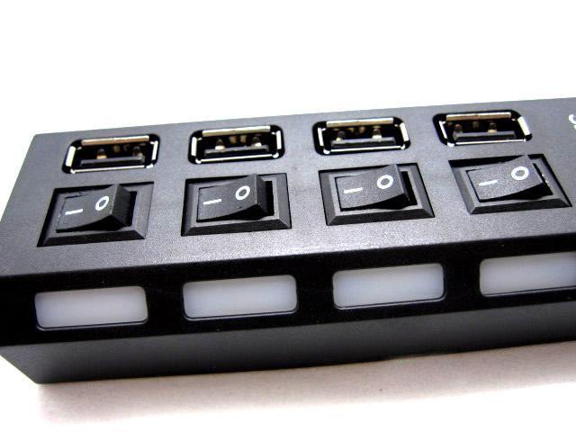 מפצל USB עם 7 כניסות