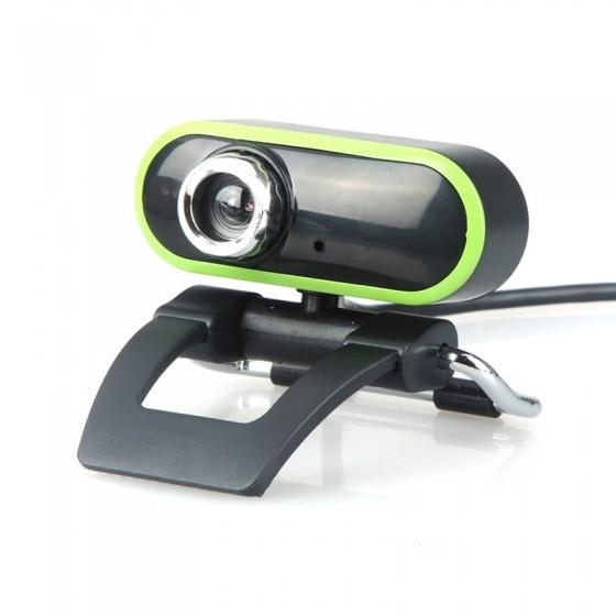 מצלמת HD למחשב עם מיקרופון מובנה