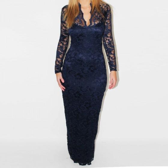 שמלת מקסי לערב - תמונה 2
