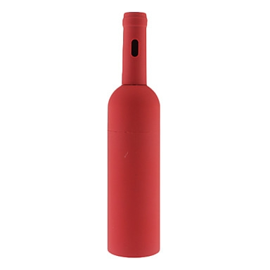 פותחן בקבוקי יין בסגנון בקבוק אדום
