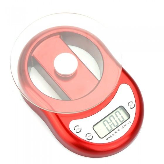 משקל מטבח דיגיטלי מעוצב  5 קג