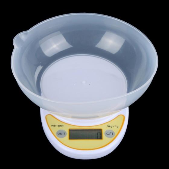 משקל מטבח דיגיטלי אלקטרוני  5 ק''ג