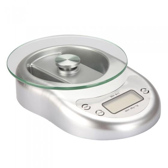 משקל דיגיטלי אלקטרוני למטבח 5 ק''ג