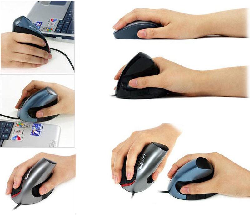 עכבר ארגונומי JOY מקורי אנכי אורטופדי למניעת כאבים בכף היד (ימין)
