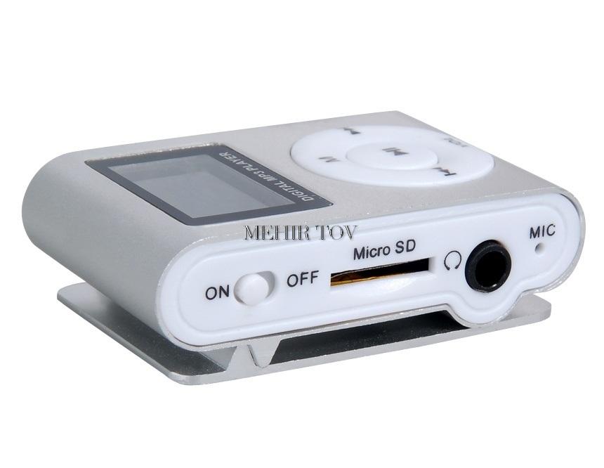 נגן MP3/MP4 קליפס תומך TF/micro SD