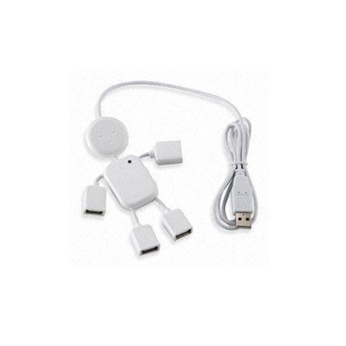 מפצל USB בצורת איש עם 4 כניסות
