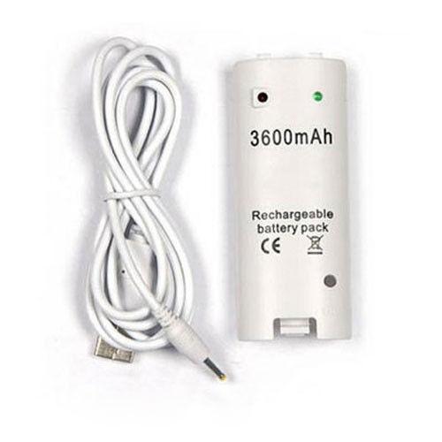 3600mAh סוללה נטענת לשלט Wii