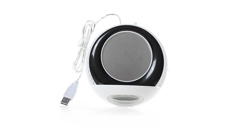 מחמם קפה ושעון עם מפצל USB 4 כניסות