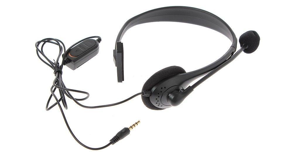 אוזניות עם מיקרופון לפלייסטיישן PS4