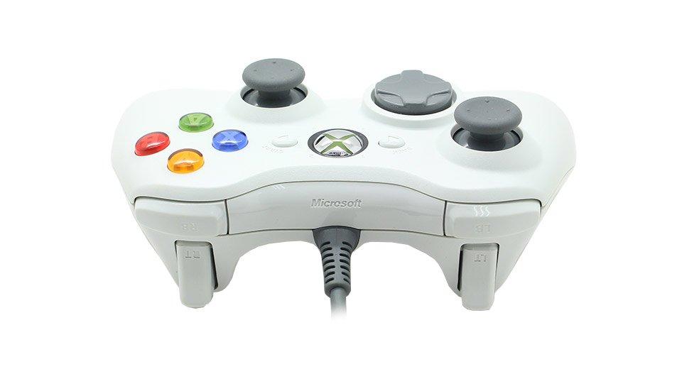 שלט Gamepad חוטי מקורי לקונסולת 360 Xbox מבית Microsoft