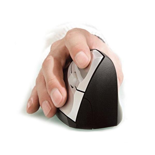 עכבר ארגונומי אורטופדי אנכי ימין חוטי