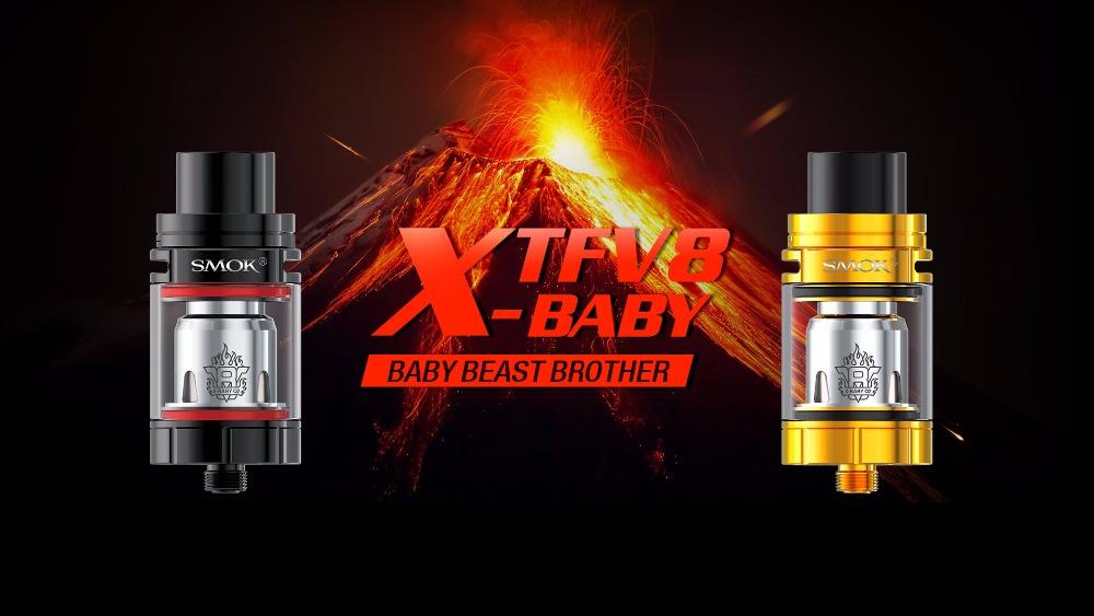 ערכת קלירומייזר SMOK TFV8 X-Baby Atomizer