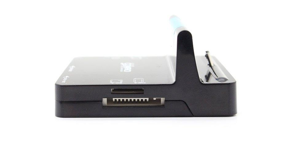 מטען שולחני אוניברסלי לגלקסי  מפצל USB  קורא כרטיסים - תמונה 4