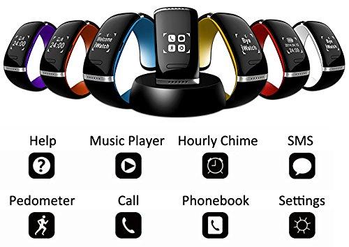 שעון יד חכם/ צמיד חכם Bluetooth bracelet