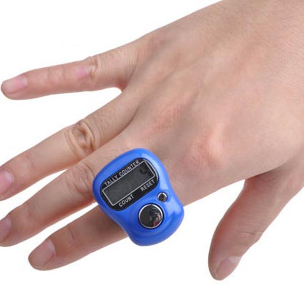 נומרטור קאונטר לספירה ידנית דיגיטלי לאצבע