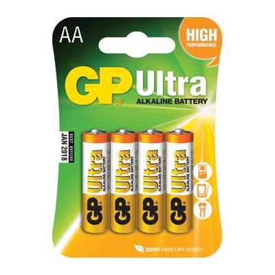 סוללה GP Ultra AA 4