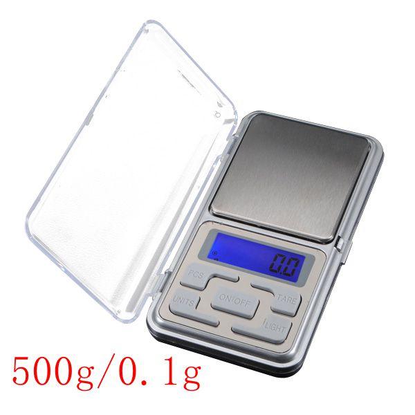 משקל כיס אלקטרוני דיגיטלי 500 - 0.1 גרם