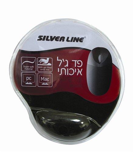 משטח פד גל איכותי לעכבר Silver Line