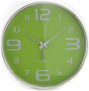 שעון קיר גדול אנלוגי מנגנון שקט גודל 25 ס