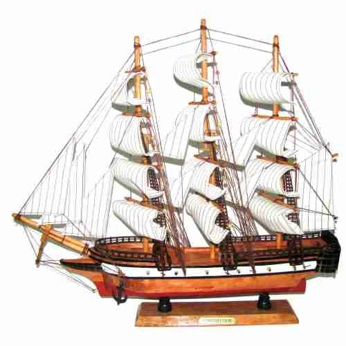 אוניה מעץ  40 ס''מ