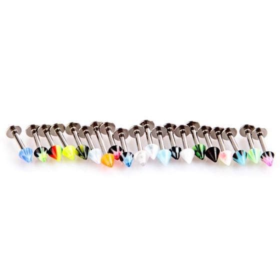 עגילים לשפתיים 20 יחדות