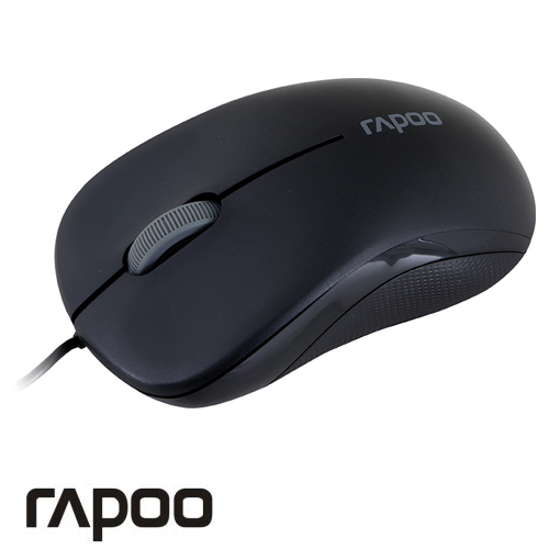 עכבר Rapoo USB Wired Optical N1130