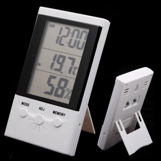 מד לחות וטמפרטורה דיגיטלי