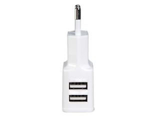 מתאם USB 2A לחשמל עם 2 יציאות USB