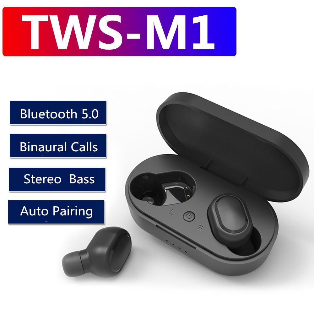 אוזניות בלוטוס ללא חוטים TWS M1