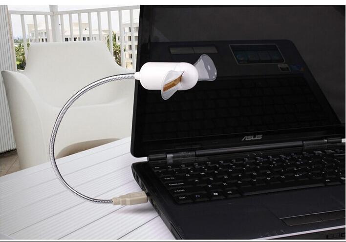 מאוורר USB גמיש בצורת שעון