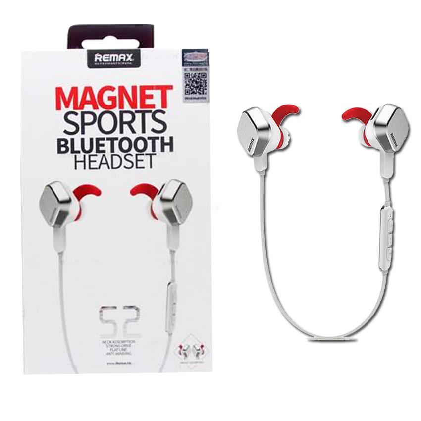 אוזניות בלוטוס לריצה REMAX עם מגנטים