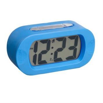שעון מעורר סיליקון אובלי עם תאורת לד