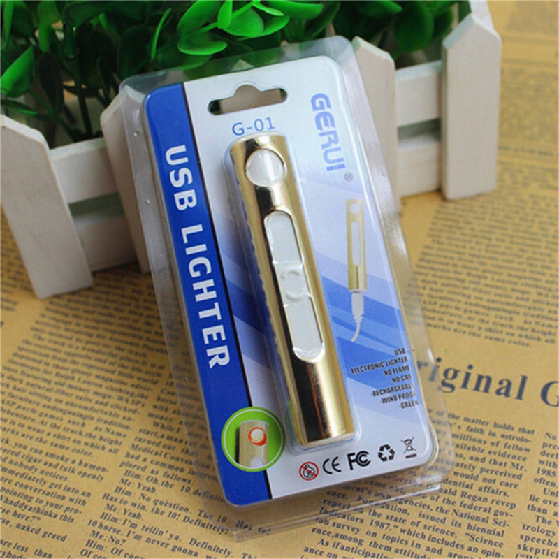 מצת אקולוגי נטען עם חיבור USB