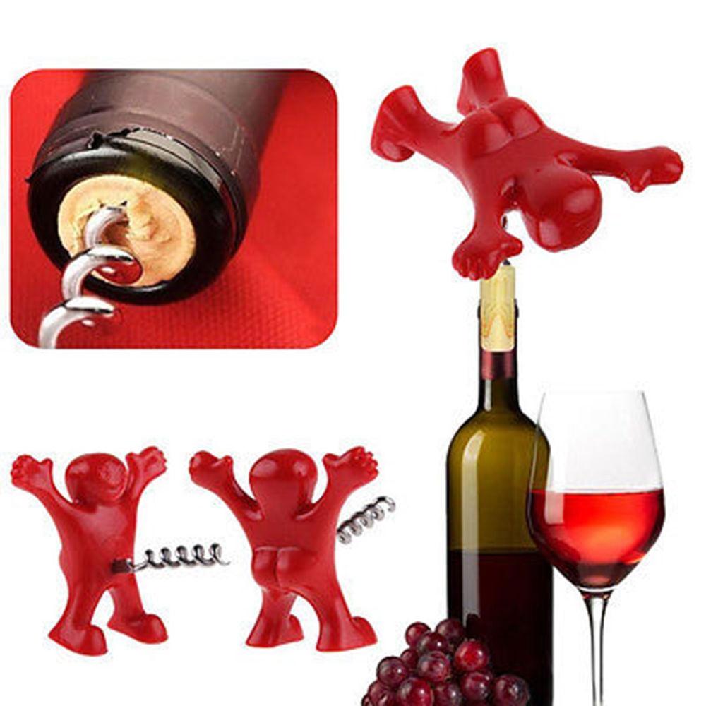 פקק לבקבוק יין רב פעמי מגניב
