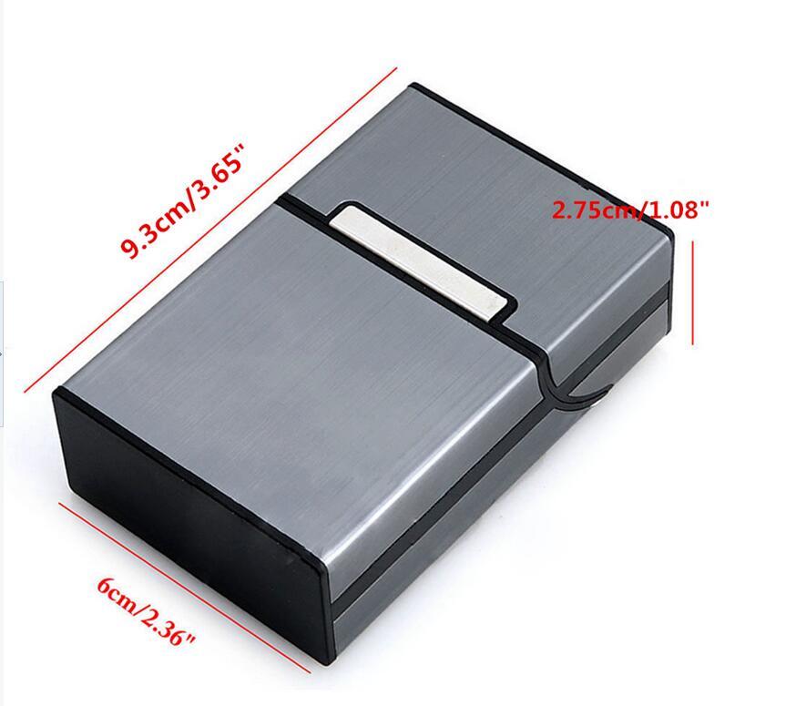 קופסת אלומיניום לסגריות מקופסה או מגולגלות